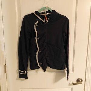 Nautical Zip-up Hoodie from Anthropologie